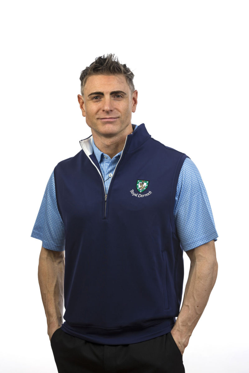 Donald Ross Tech Zip Vest