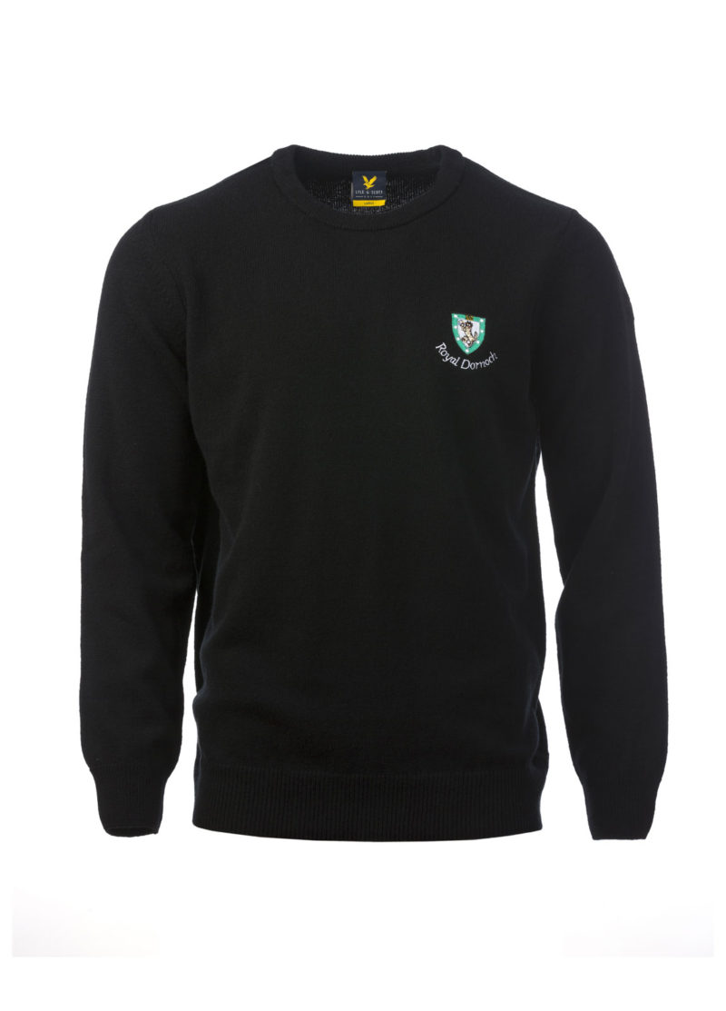 Lyle & Scott Crew Neck, Black