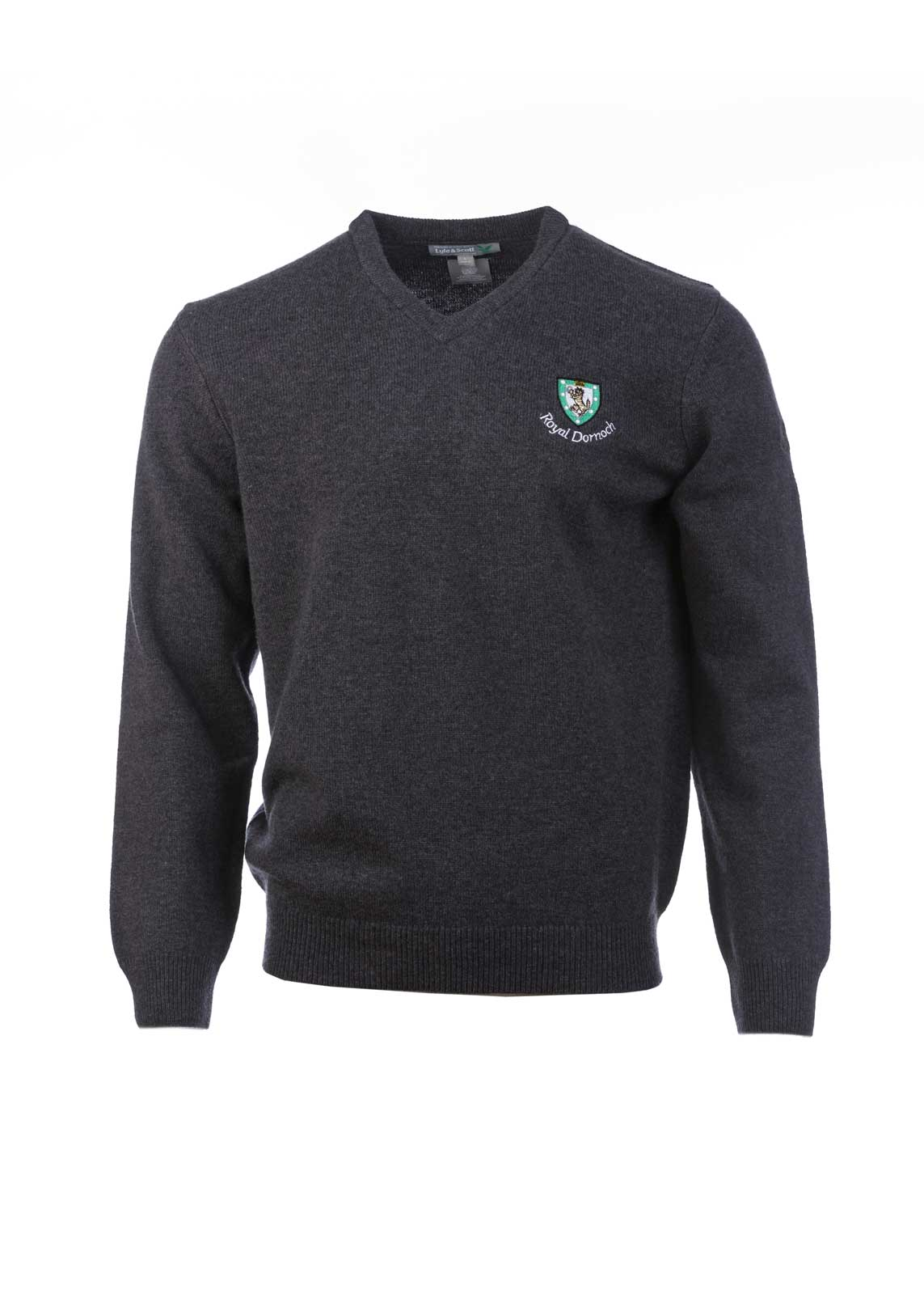 Lyle Amp Scott Classic V Neck Sweater Royal Dornoch Pro Shop
