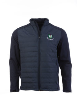 Murray Golf Phil Quilted Jacket - Navy Black