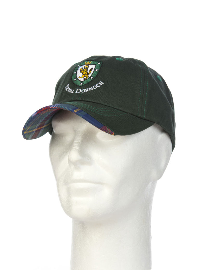 Royal Dornoch Tartan Trim Baseball Cap