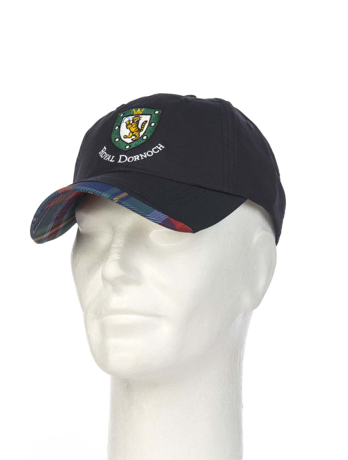 Royal Dornoch Tartan Trim Baseball Cap Royal Dornoch Pro