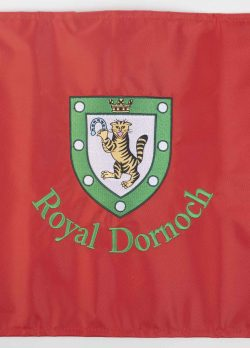 Royal Dornoch Pin Flag Red