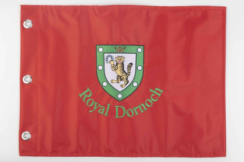 Royal Dornoch Pin Flag Red