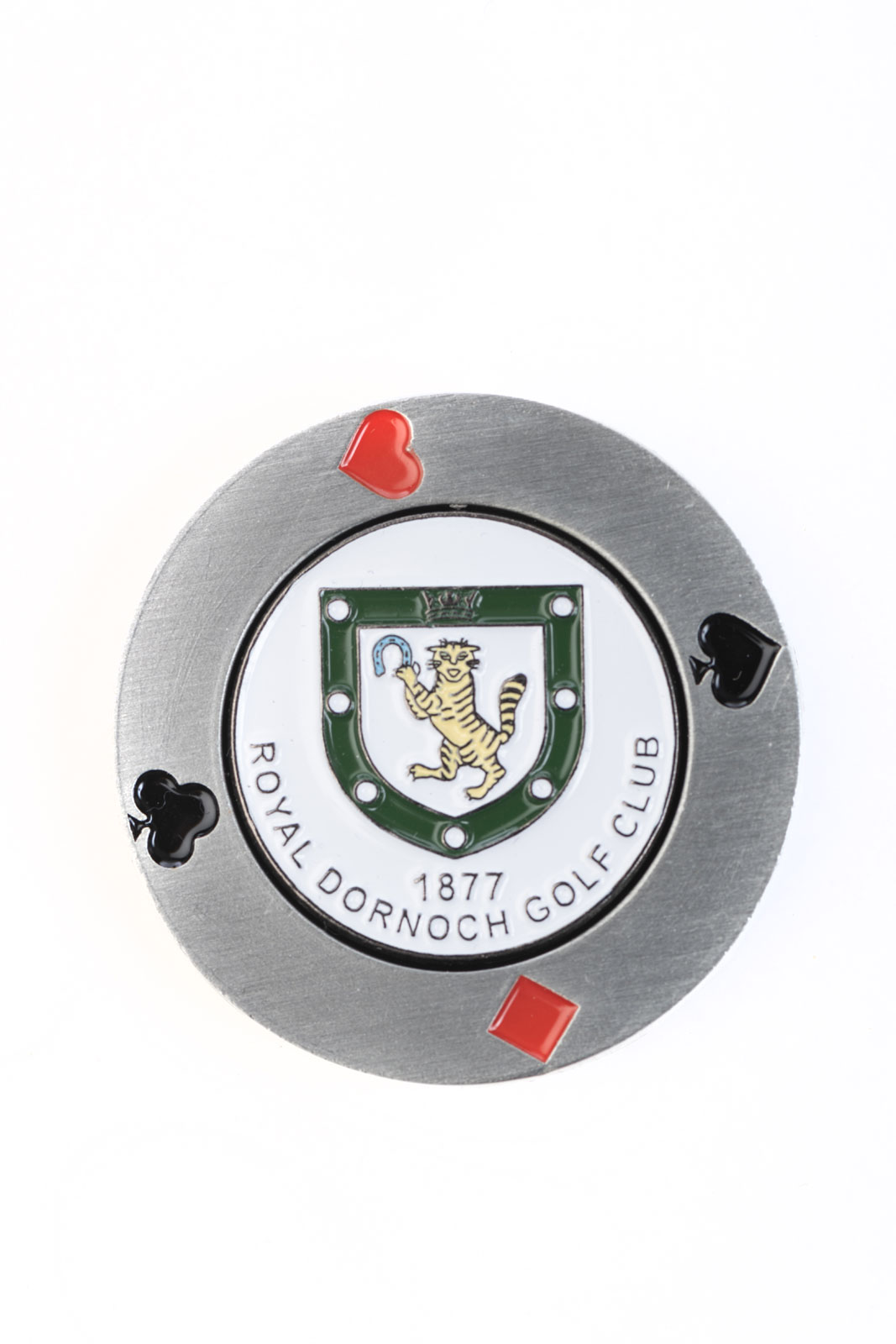 Metal Poker Chip Marker Royal Dornoch Pro Shop