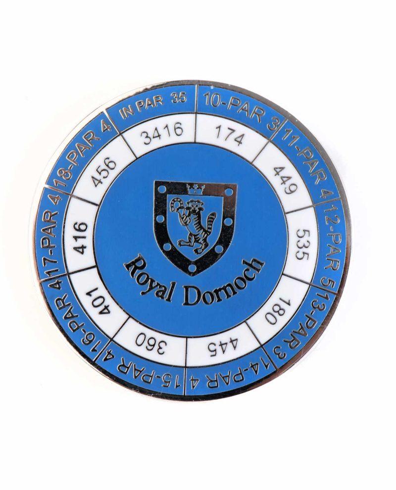 Royal Dornoch Standard Duo Marker Blue