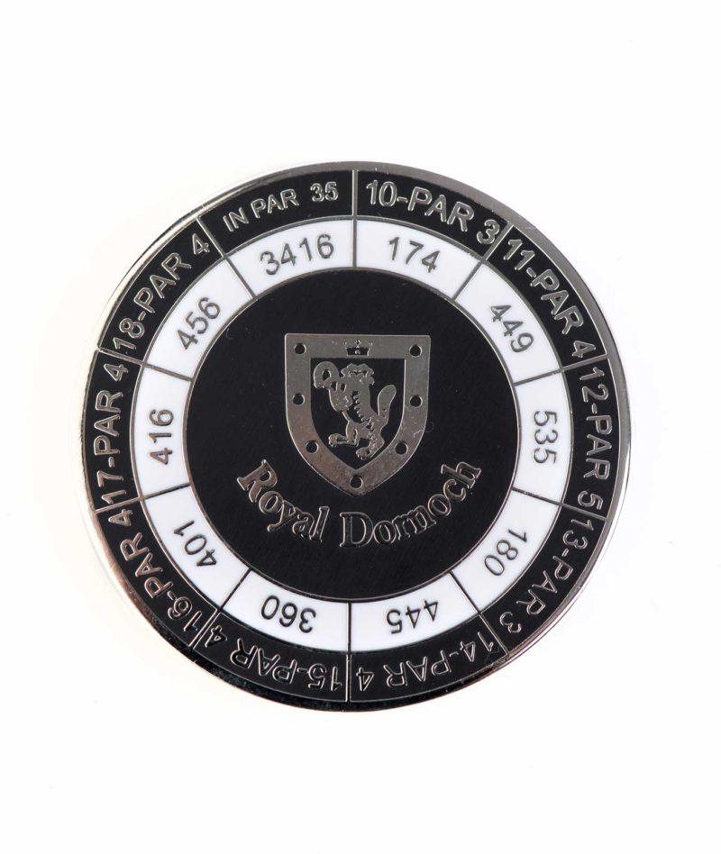 Royal Dornoch Standard Duo Marker Black