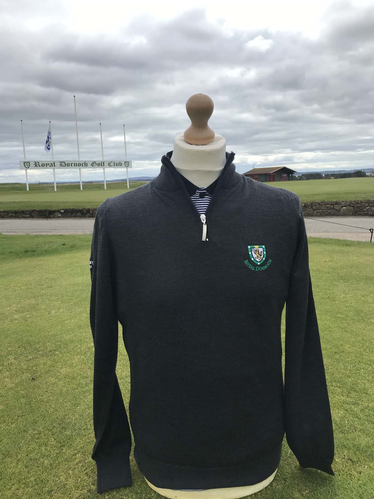 Jasper Merino Wool 1 4 Zip Sweater Royal Dornoch Pro Shop
