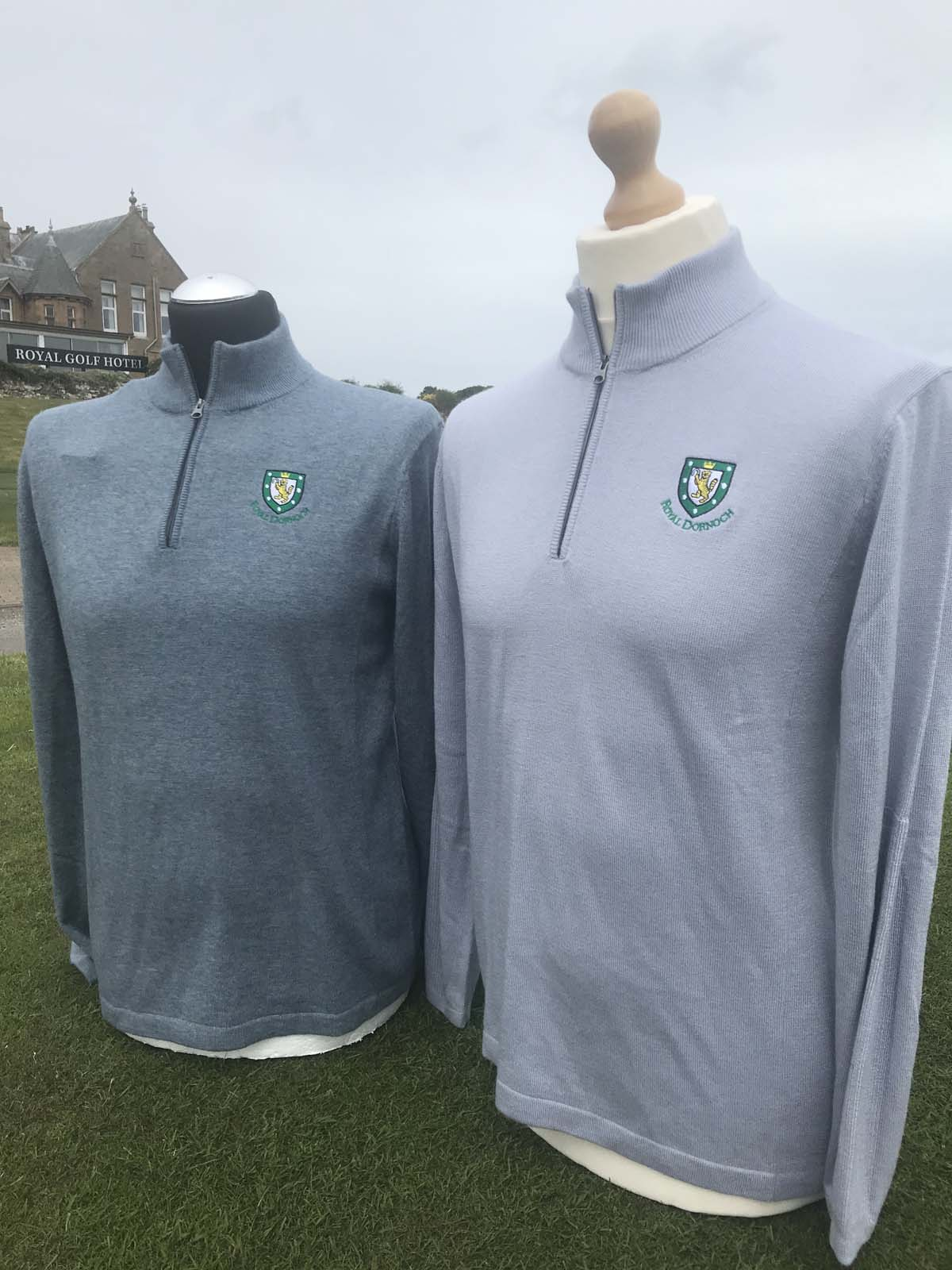 Cashmere Copake 1 4 Zip Royal Dornoch Pro Shop